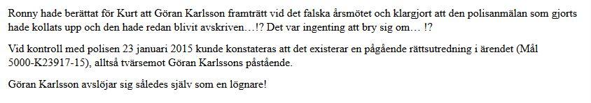 Lögnaren Göran Karlsson