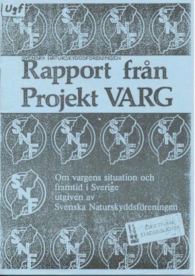 Rapport från Projekt Varg
