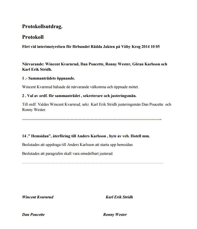 RJ protokoll 141005