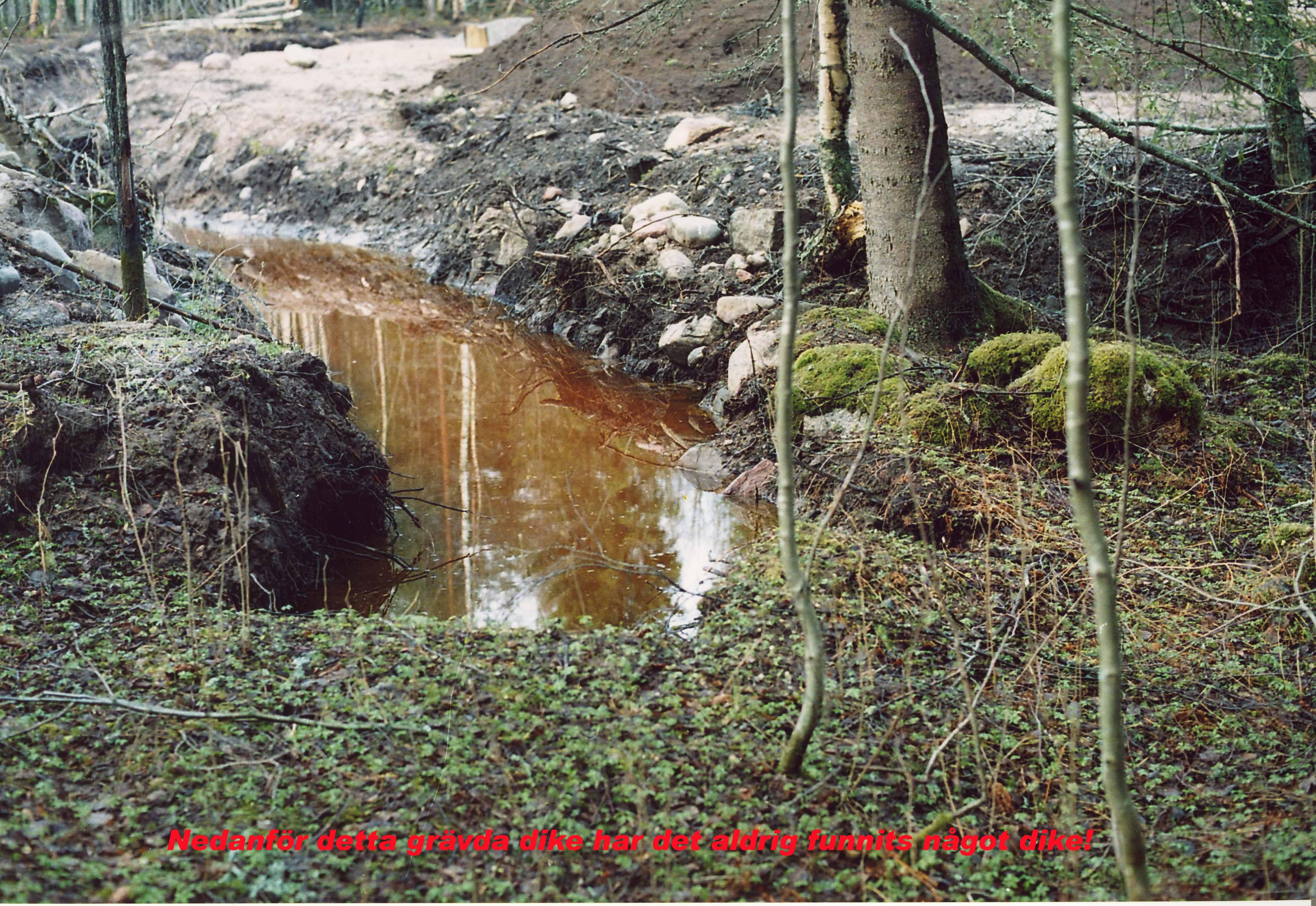 12. Dikesslut med vatten