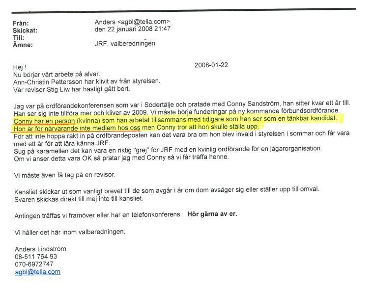 Anders Lindström 080122